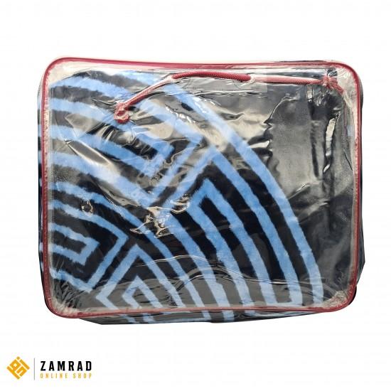 حرام طاقين مجوز 5 كغ لون كحلي واسود قياس 200×240 سم