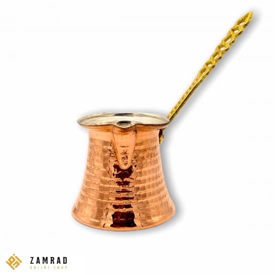 ركوة قهوة نحاس وسط
