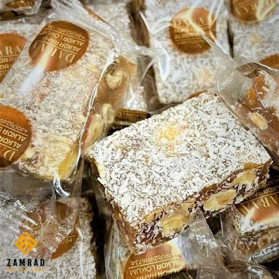 راحة فاخرة بنكهة البندق وجوز الهند بالشوكولا مكفولة صنع ألمانيا -1كغ
