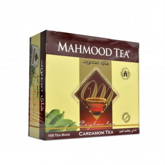 شاي محمود بطعم الهيل 100 ظرف
